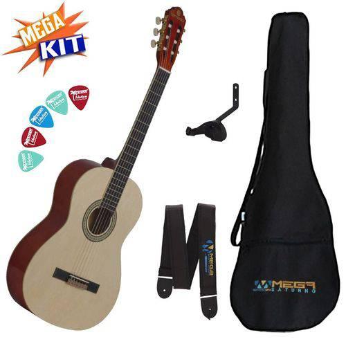 Kit Violão Acústico Clássico Nylon Gna-111nt Harmonics