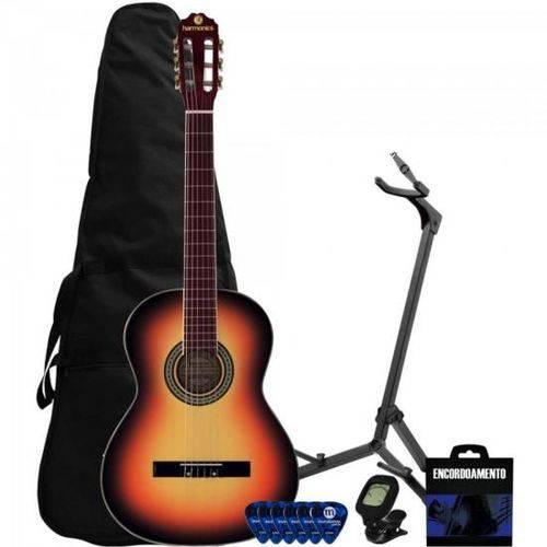 Kit Violão Clássico Nylon Gna-111 Sunburst Harmonics + Acessórios