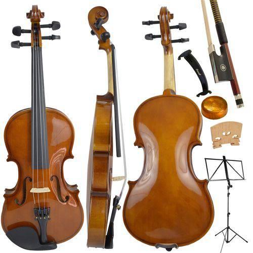 Kit Violino Tradicional 3/4 Dominante Completo Completo
