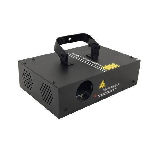LASER Show B2000 400mw Rgb Colorido Audioritmico Dmx Bivolt
