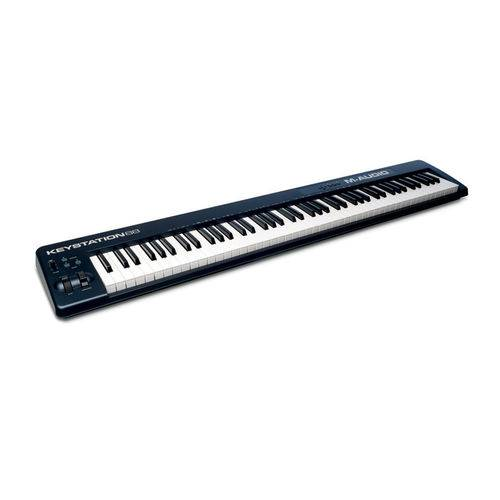 M Audio Keystation 88 Ii Controlador 7 Oitavas com Teclas Semi-Pesadas