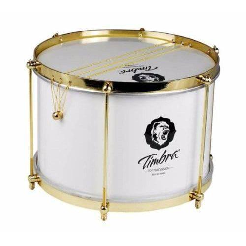 "Malacacheta Timbra 12""20cm Alumínio Branco / Dourado 8289"