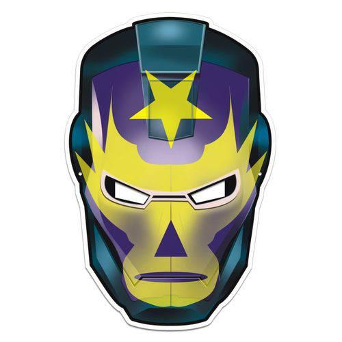 Máscara Demolidor Colorido com Impresso - 01 Unidade