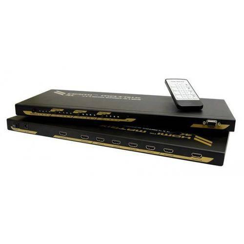 Matriz HDMI™ 4×4 com Suporte 4Kx 2K@30Hz - AMC