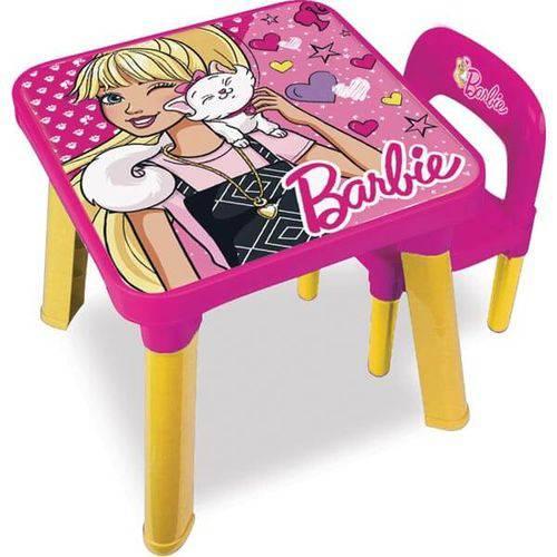 Mesa com Cadeira Barbie