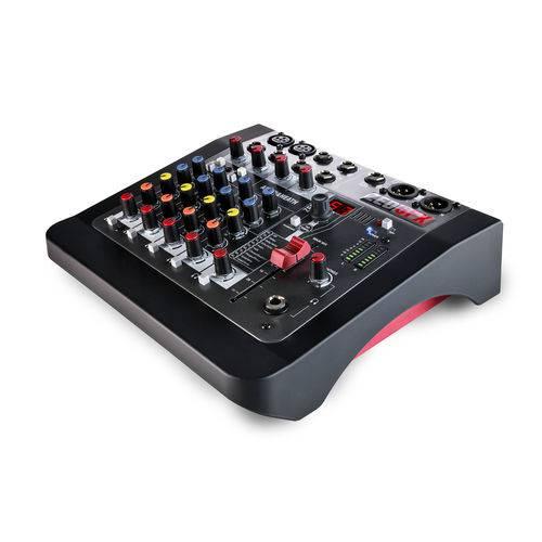 Mesa de Som Allen & Heath ZED-6FX Mixer Analógico de 6 Entradas com FX