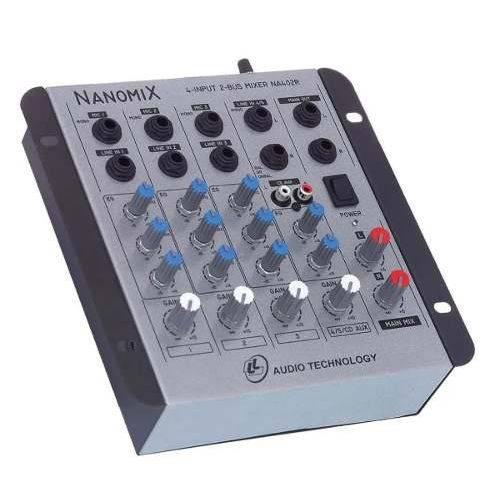 Mesa de Som - Mixer Nanomix Ll Na402r