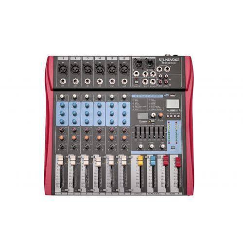 Mesa de Som Soundvoice MS 602 EUX