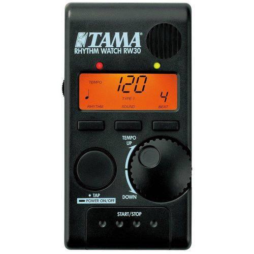 Metrônomo Tama Rhythm Watch Mini Rw30 Modelo Novo e Compacto Exclusivo para Bateristas