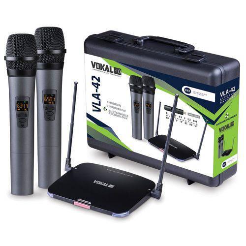 Mic. S/fio - Vokal Vla-42/uhf/mao Du