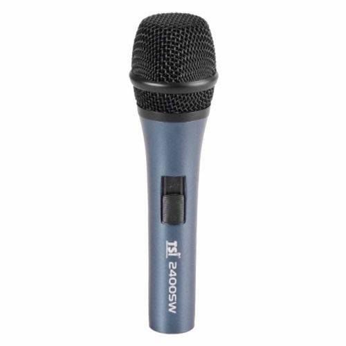 Microfone C/ Fio de Mão 2400 Sw - Tsi