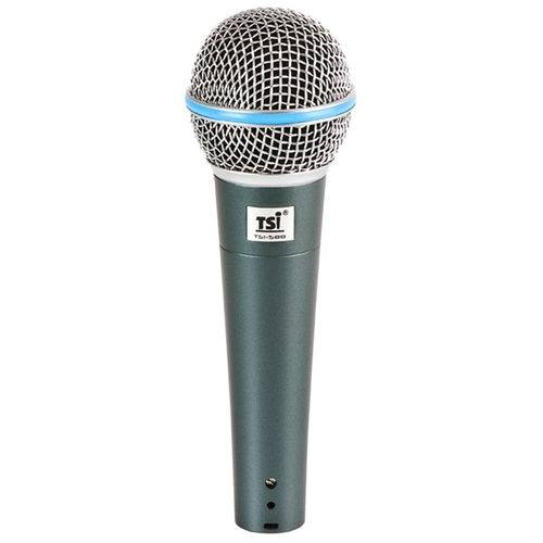 Microfone C/ Fio de Mão 58 B - Tsi
