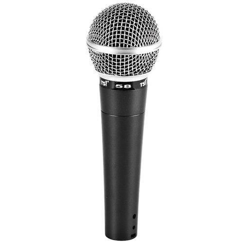 Microfone C/ Fio de Mão 58 - Tsi