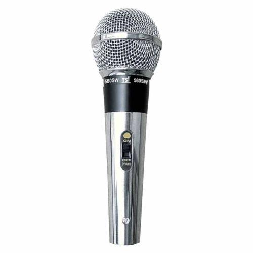 Microfone C/ Fio de Mão 580 Sw - Tsi