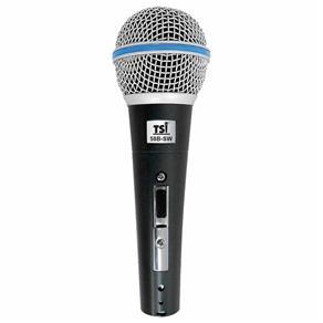 Microfone C/ Fio de Mão 58B-SW - TSI