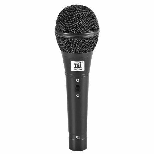 Microfone C/ Fio de Mão - 600 SW TSI