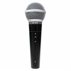 Microfone C/ Fio de Mão Ls 50 - Le Son