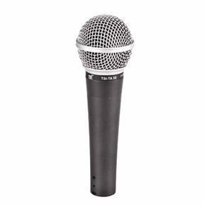 Microfone C/ Fio de Mão Ta 58 - Tsi