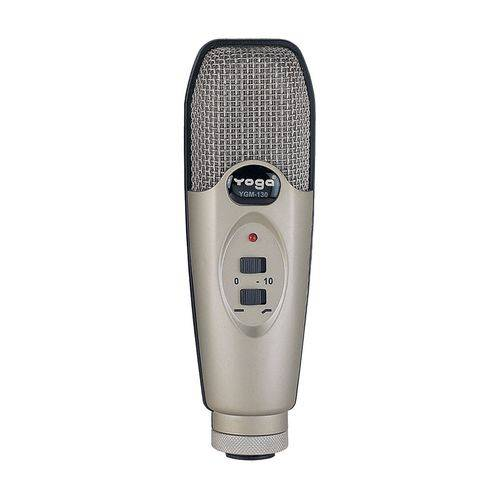 Microfone C/ Fio P/ Instrumentos / Pratos - Ygm 130 Yoga