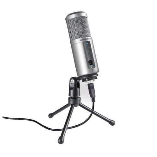 Microfone Cardioid Condensador Usb Atr2500-Usb - Audio-Technica