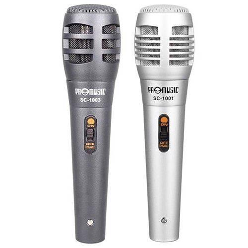 Microfone Chip Sce com 2 Unidades