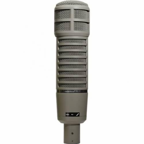 Microfone Clássico Estúdio Electro Voice Re20