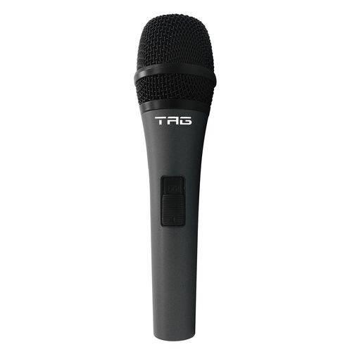 Microfone com Cabo Tag Sound Tm-538 Xlr Macho P10