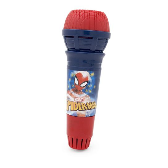 Microfone com Eco - Homem Aranha - Marvel