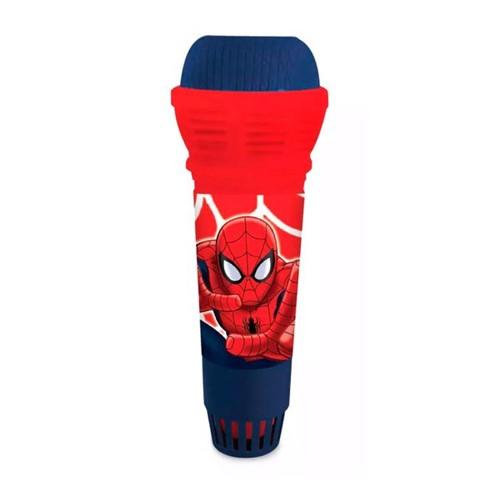 Microfone com Eco Homem Aranha