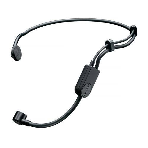 Microfone com Fio PGA31 Headset Design Flexível Shure