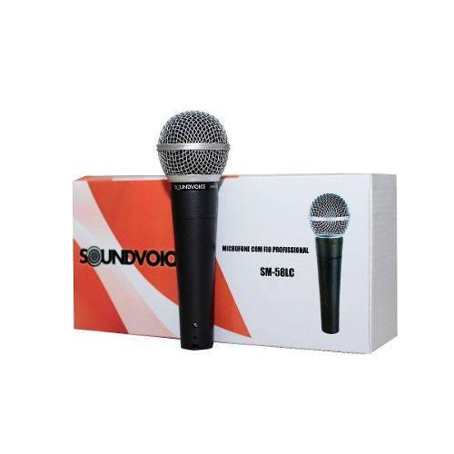 Microfone com Fio Sm58s Soundvoice