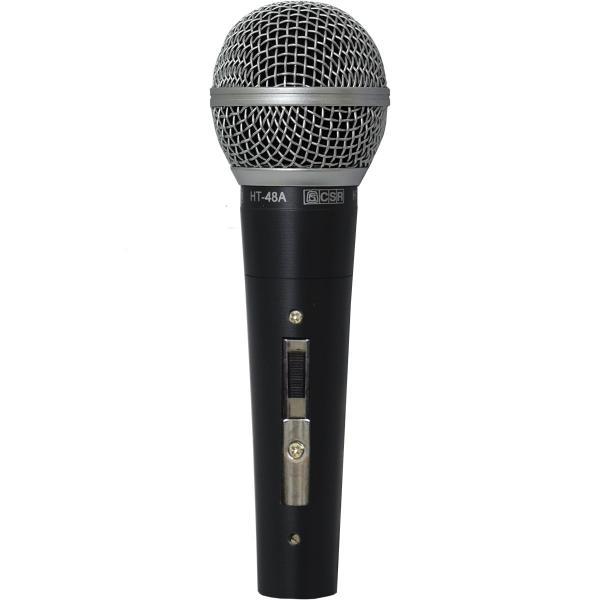 Microfone com Fio Vocal HT-48A - CSR