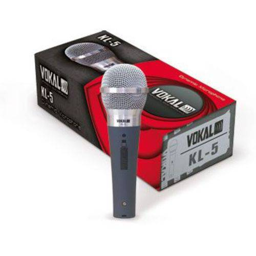Microfone com Fio Vokal Kl5