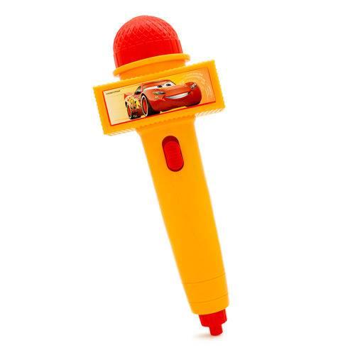Microfone com Luz - Amarelo - Disney Cars - Toyng