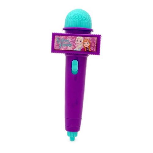 Microfone com Luz Frozen Roxo Toyng
