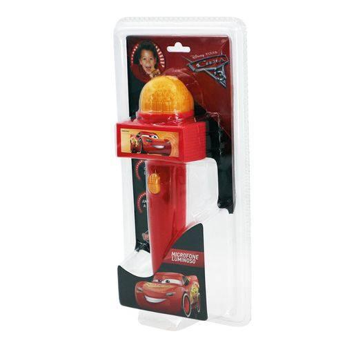 Microfone com Luz Vermelho Carros 3 Disney - Toyng 29644