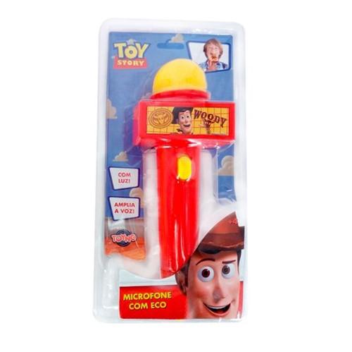 Microfone com Luz Vermelho Toy Story Toyng