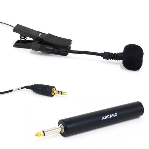 Microfone Condensador P/ Instrumento Wz-2000 (sterp) + Adapt