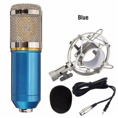 Microfone Condensador Profissional Bm800 Studio Audio Diversas Cores