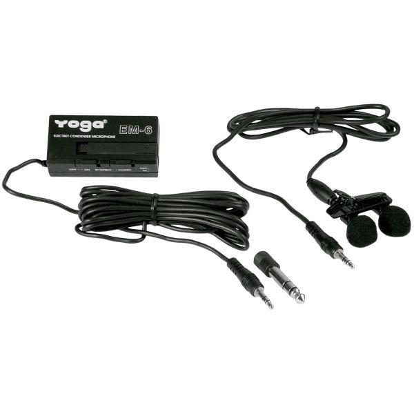 Microfone de Lapela com Fio EM-6 - Yoga