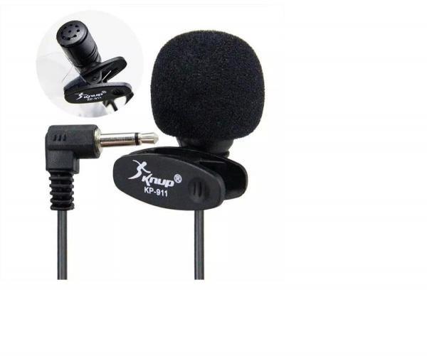 Microfone de Lapela Knup Kp 911