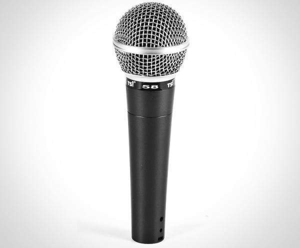 Microfone de Mao com Fio Tsi 58