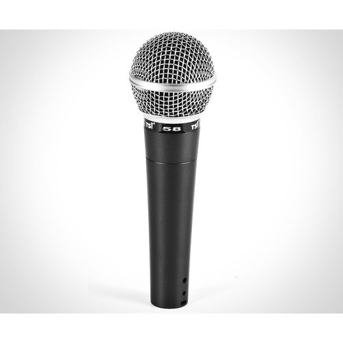 Microfone de Mão com Fio Tsi