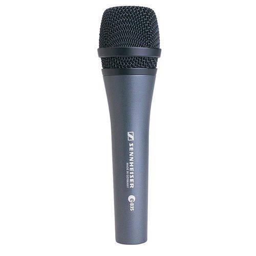 Microfone de Mão Profissional Vocal E835 - Sennheiser