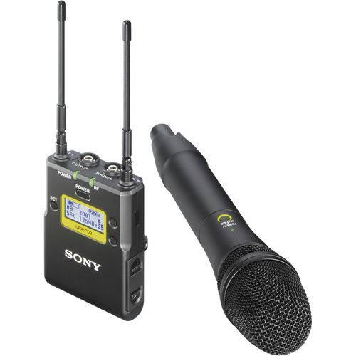 Microfone de Mão Sem Fio Sony Uwp-D12 com Receptor Portátil
