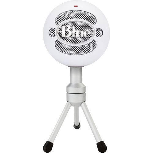 Microfone de Mesa Blue Snowball Ice USB Condenser - Modelo Blsbi (branco)