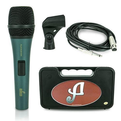 Microfone Dinâmico Arcano Platinum-b88 Xlr-p10 = A45