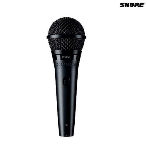 Microfone Dinâmico Cardioide PGA58 027659 Shure