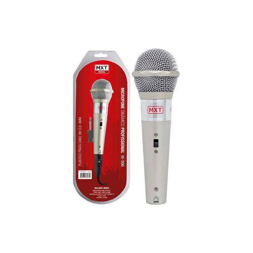 Microfone com Fio M-996 Prata Mxt 54 1 023