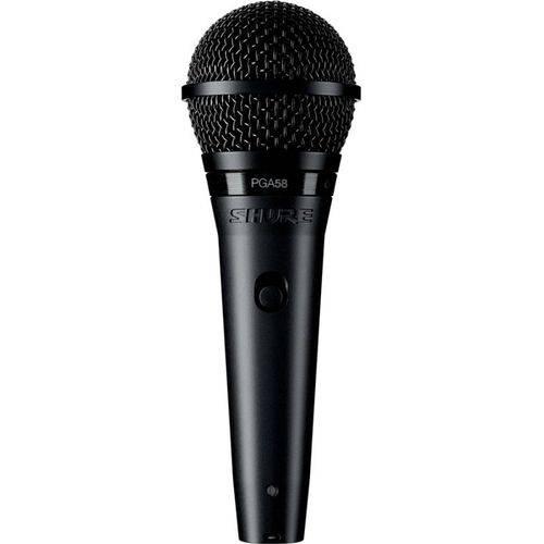 Microfone Dinâmico Cardioide com Fio PGA58LC Shure